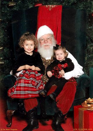 Santa photo 2008