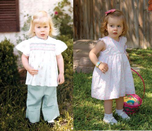 Caroline, Julie comparison