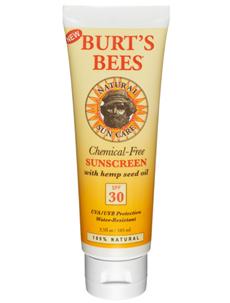 Burts bees sunscreen