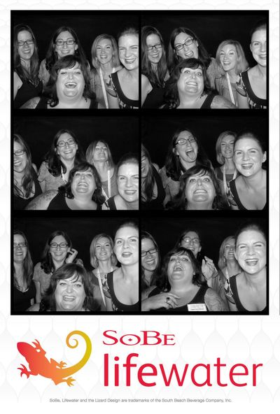 BlogHer 09 photobooth pic